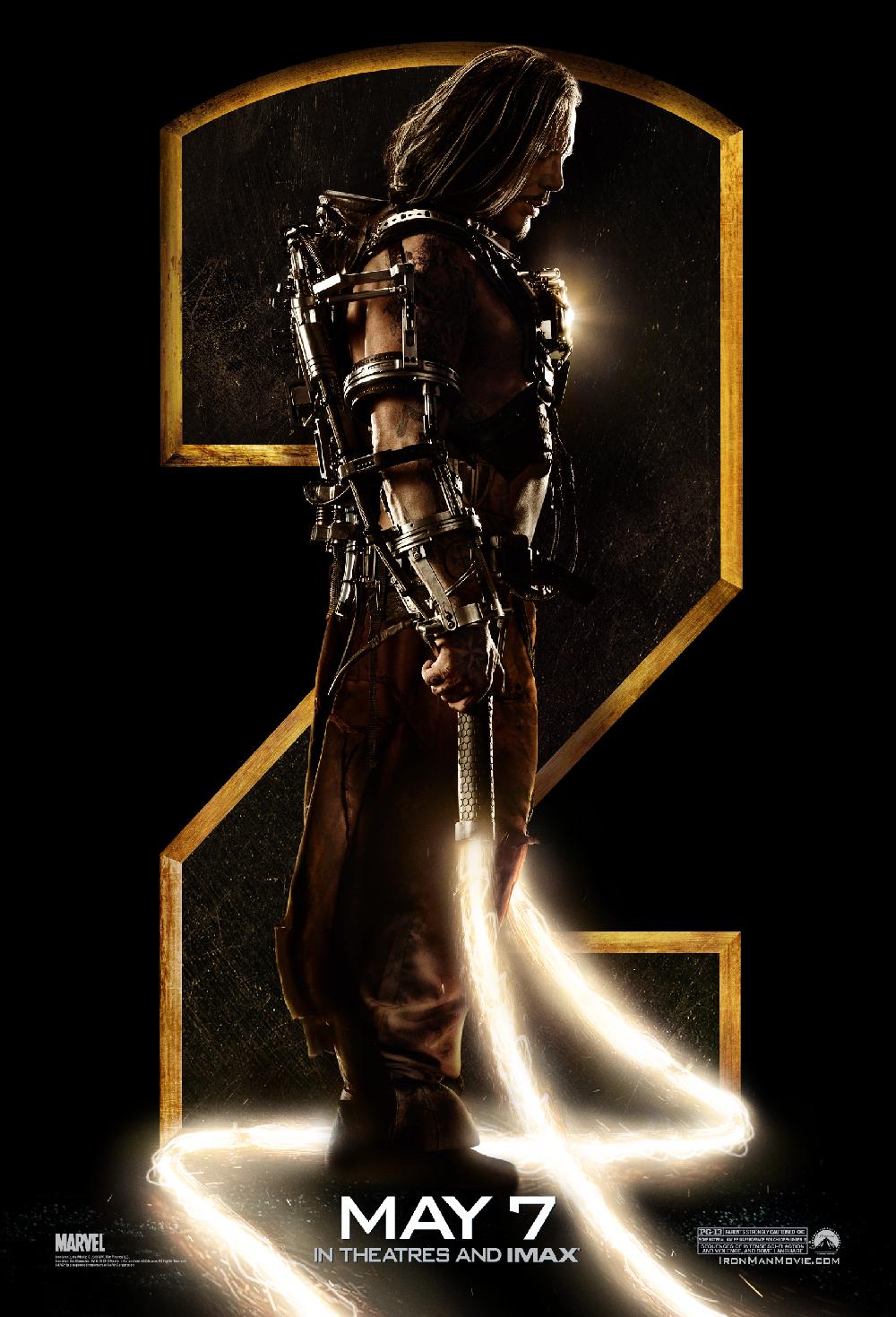 Iron Man 2: Posters Y Varias Cosas De Iron Man 2 De TV